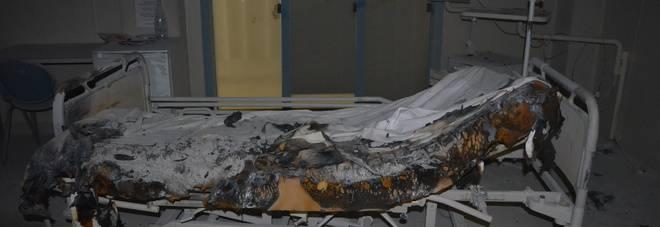 Ancona: il letto prende fuoco, attimi di terrore all'ospedale di Torrette