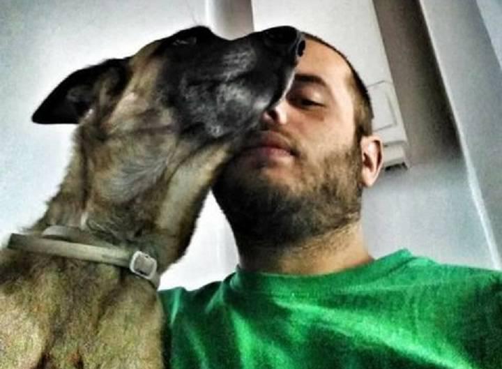 sbranato dal cane