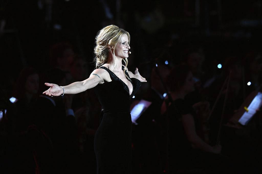 Michelle Hunziker a Sanremo?