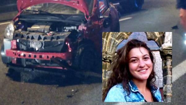 Tragico Schianto sulla Milano-Meda. E Greta perde la vita a 18 anni