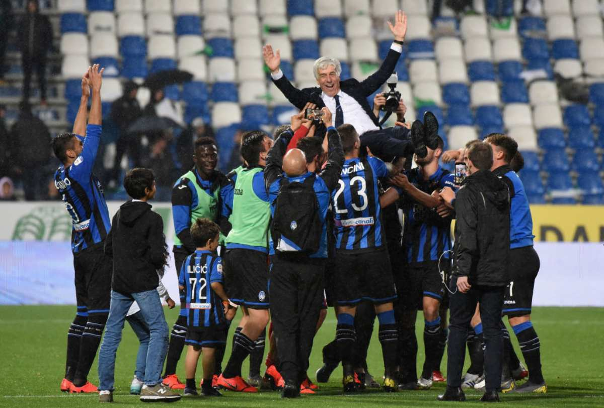Atalanta, festa Champions