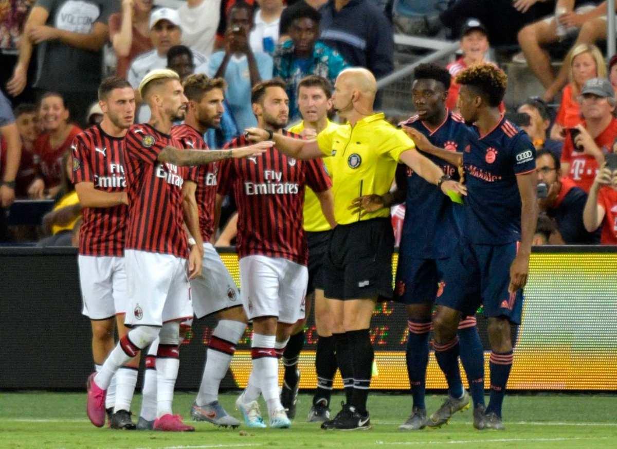 Bayern Monaco-Milan, amichevole dell'ICC 2019