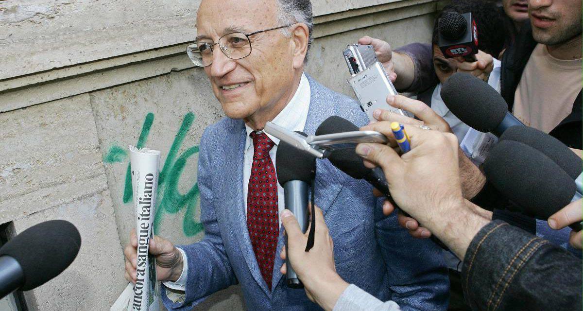 Muore Francesco Saverio Borrelli, fu il capo del pool Mani Pulite