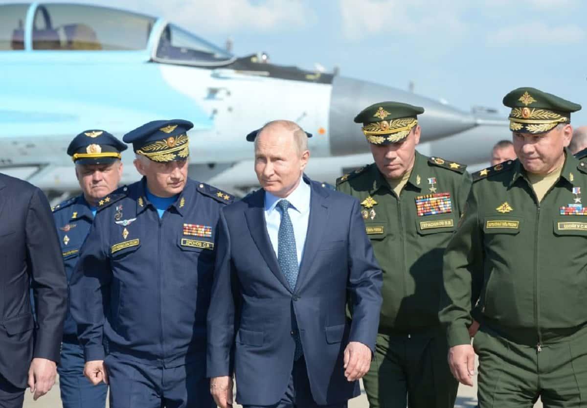 Guerra in Siria Putin