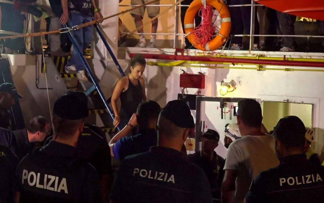 Carola Rackete querela Salvini: il Tweet del Ministro