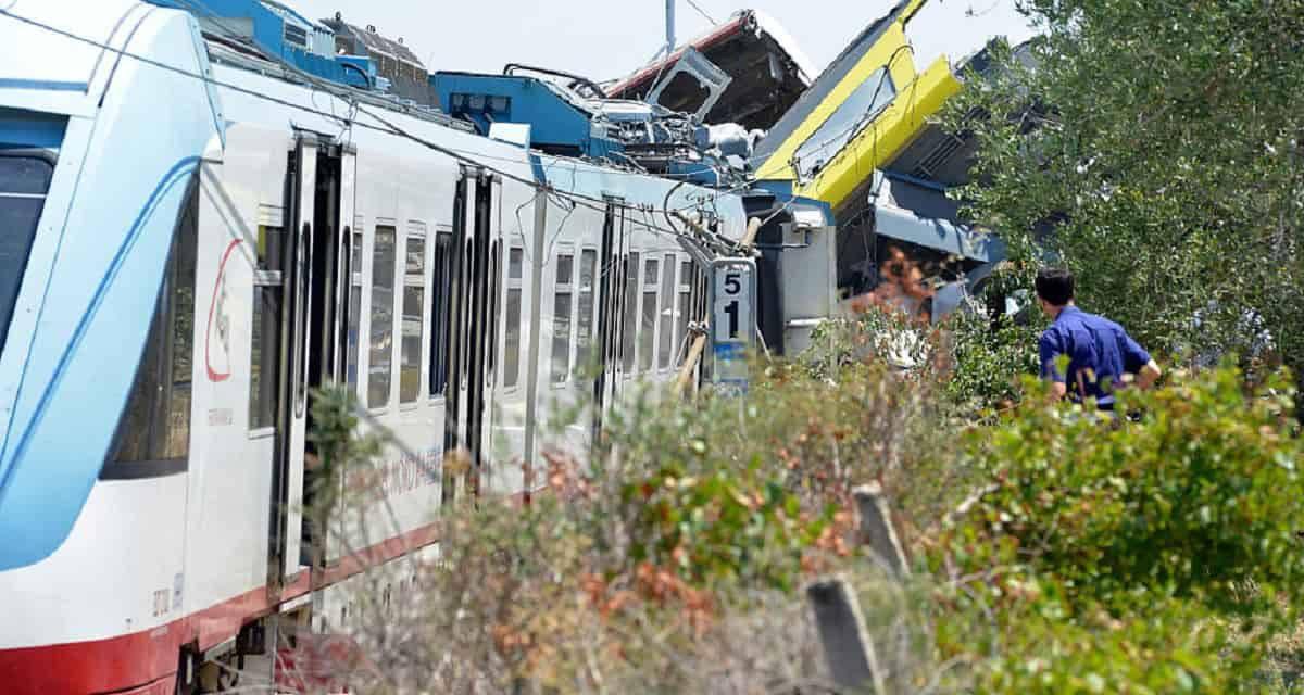 Tre anni fa la strage ferroviaria sulla Andria-Corato