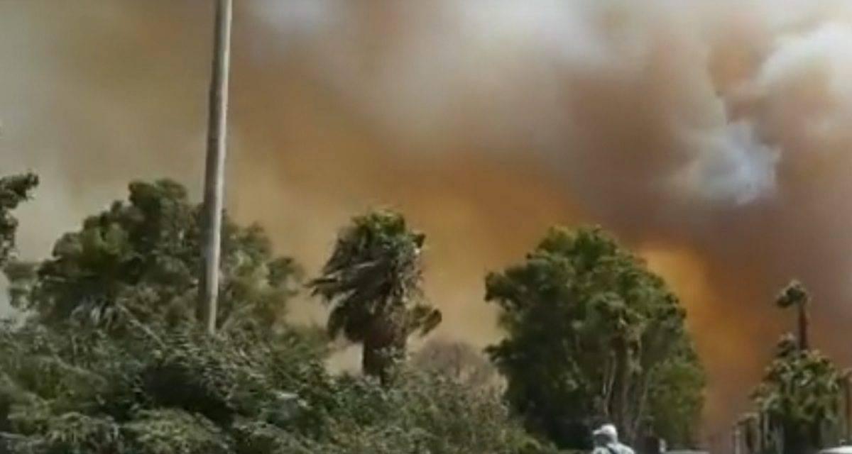 Incendi in Sicilia, colpita Catania e una famosa spiaggia locale