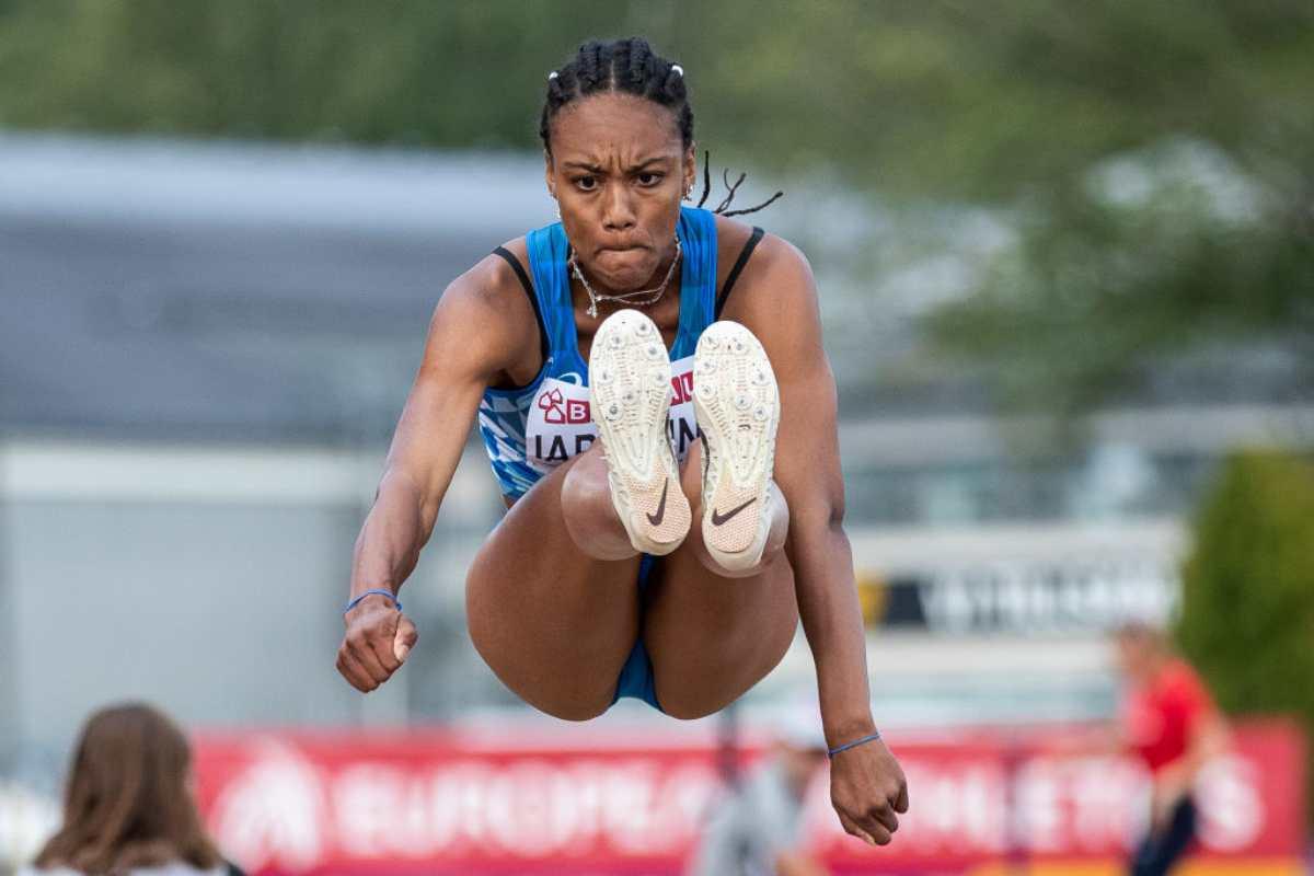 Larissa Iapichino figlia d'arte atletica Fiona May
