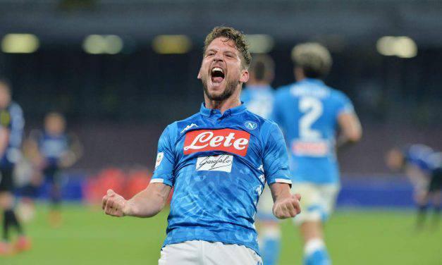 """Napoli, Mertens: """"Avrei una domanda per Sarri. Scudetto? Vedremo!"""""""