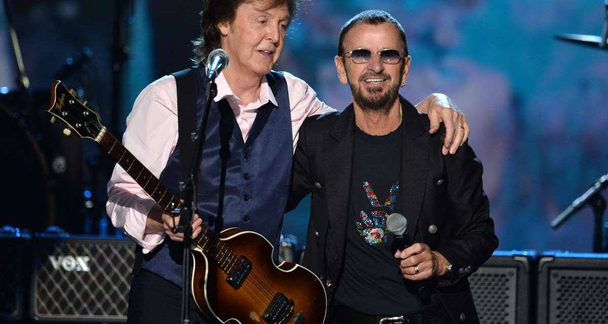 Paul McCartney e Ringo Starr di nuovo insieme a L.A. – VIDEO