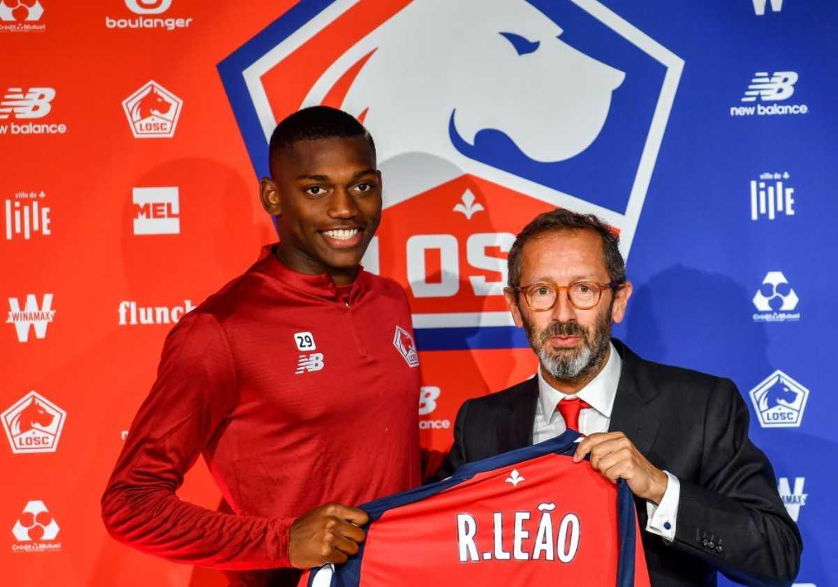 Rafael Leão, attaccante del Lille