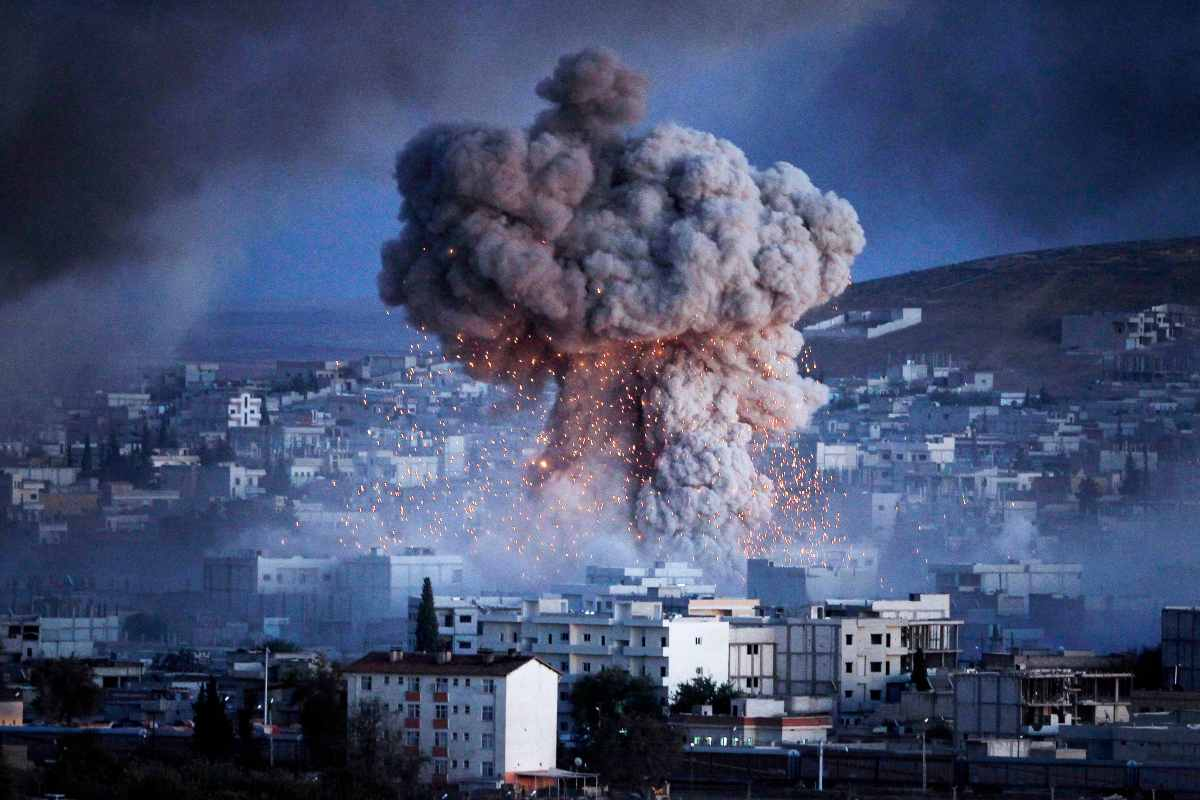 Siria: continuano i bombardamenti, Getty Images