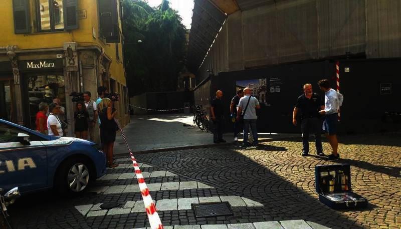 Udine, rapina armata in una gioielleria in piena centro