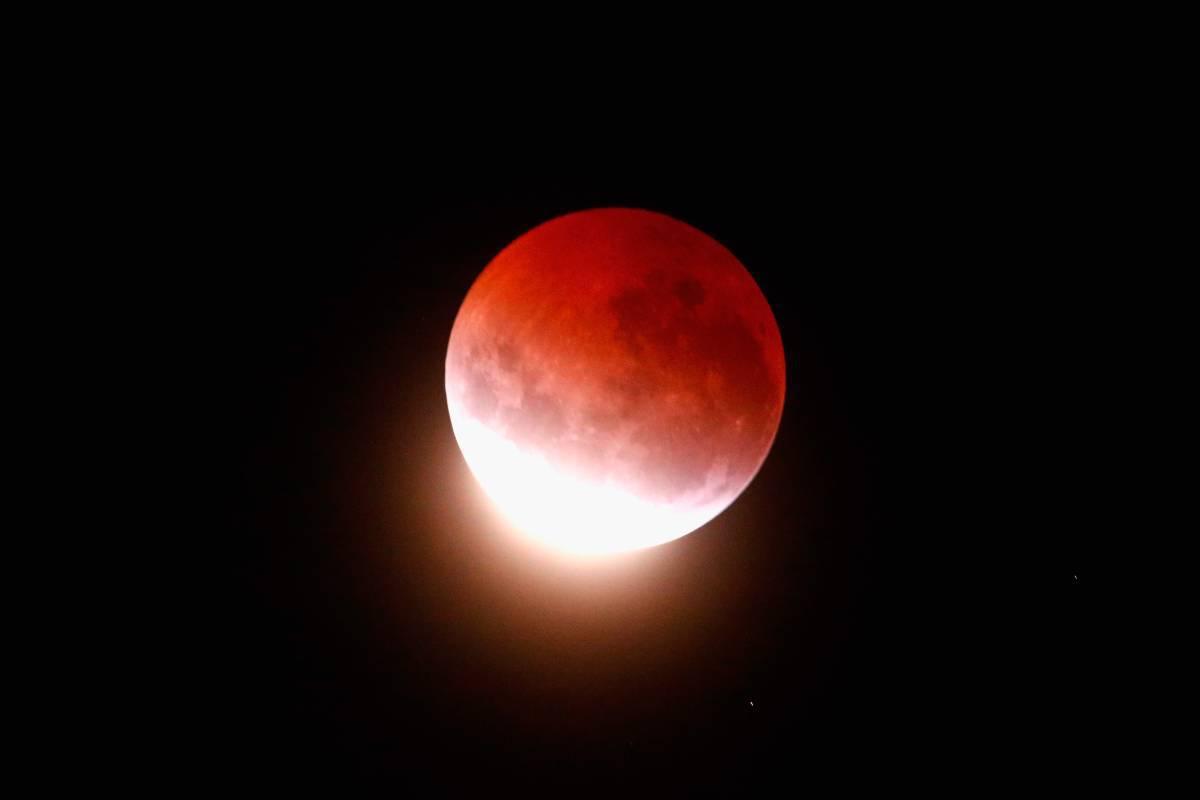 Eclissi lunare16 luglio