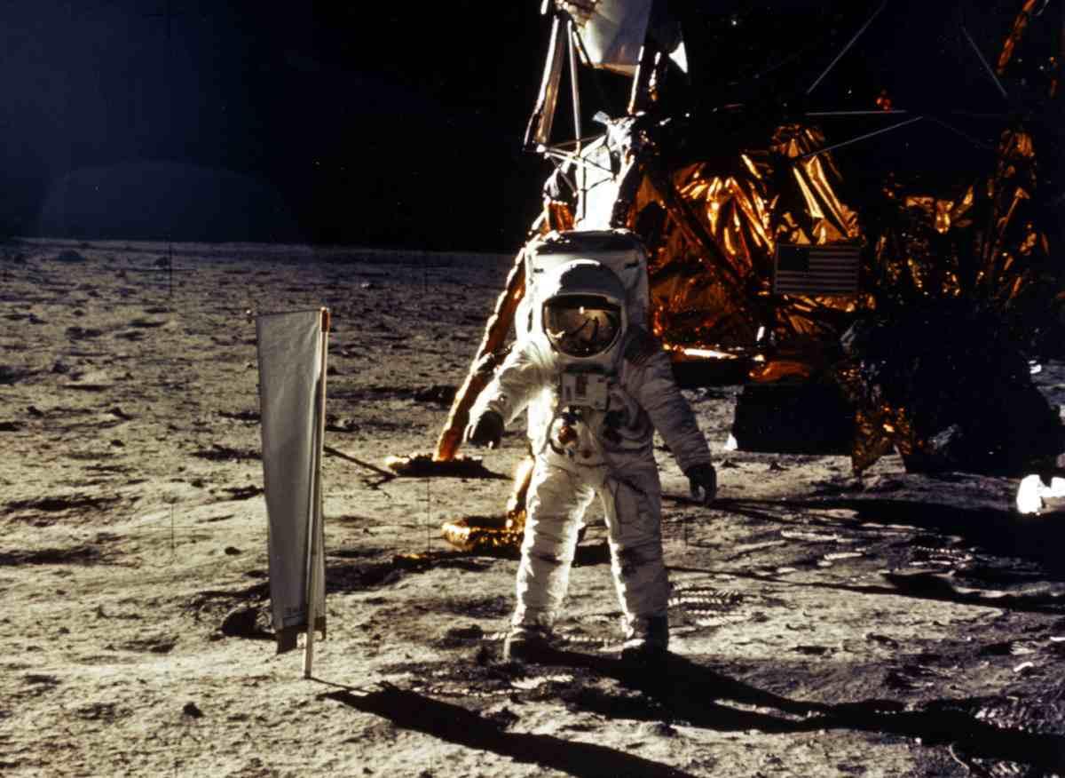 Sbarco sulla Luna, Getty images
