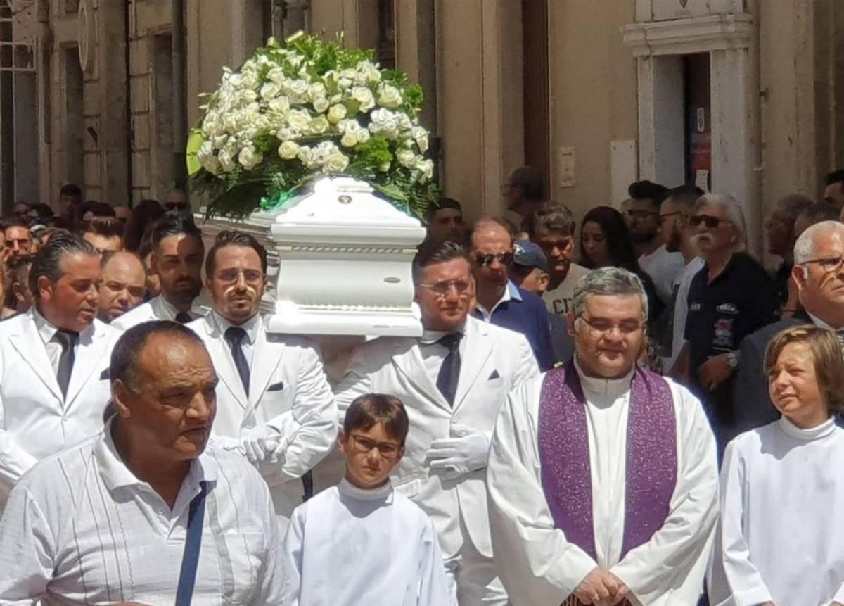 Tragedia Ragusa, funerali Alessio