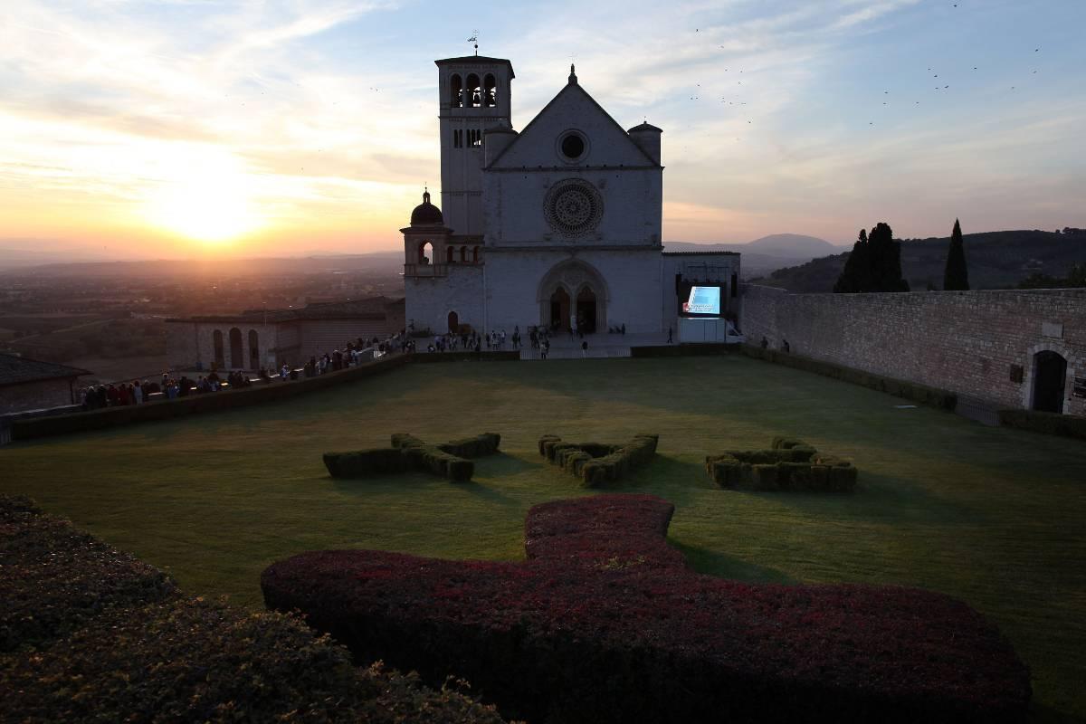 Giorno del perdono, Assisi