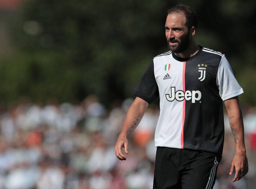 Gonzalo Higuain Juventus Napoli