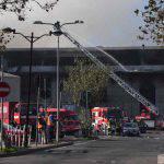 Sospetto incendio doloso al cementificio Colacem: allarme per le polveri