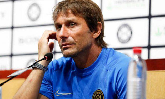 """Conte: """"Gap con Juve e Napoli, ma ci proveremo. Icardi? Non ho problemi"""""""