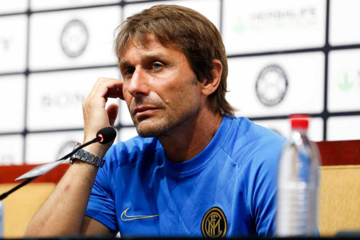 Inter, Antonio Conte in conferenza stampa