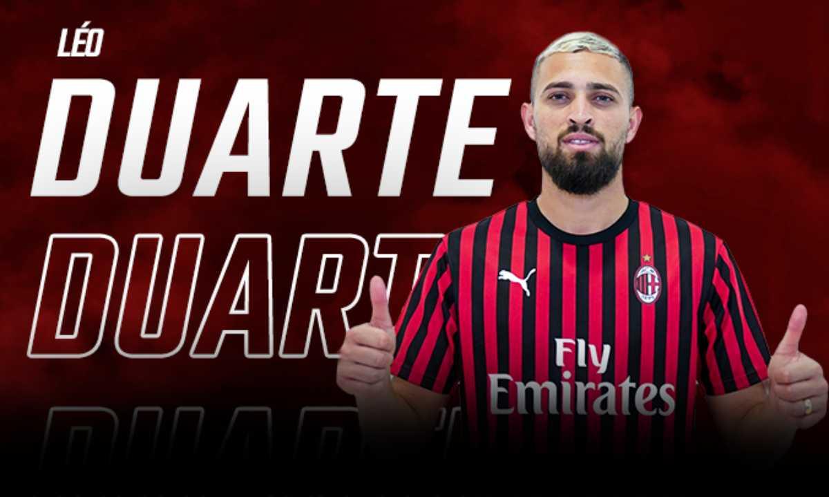 Léo Duarte, l'annuncio del Milan