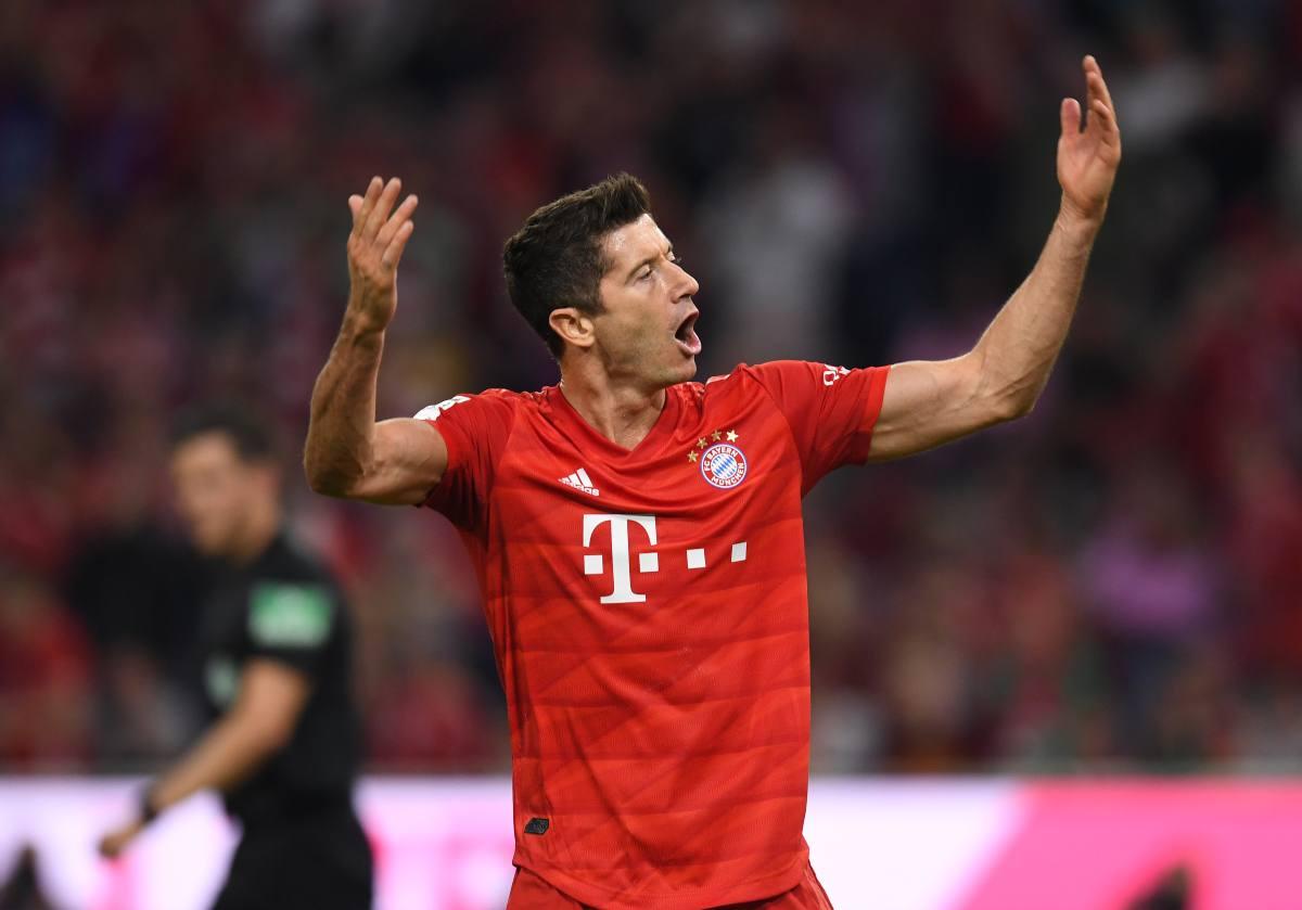 Lewandowski Bayern Monaco