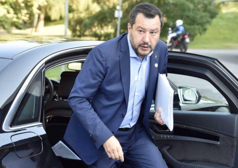 Matteo Salvini, Ministro degli Interni