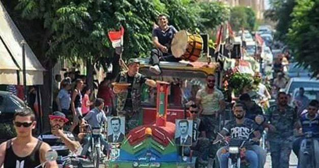 Mhradeh in festa, la città siriana cristiana liberata dai terroristi