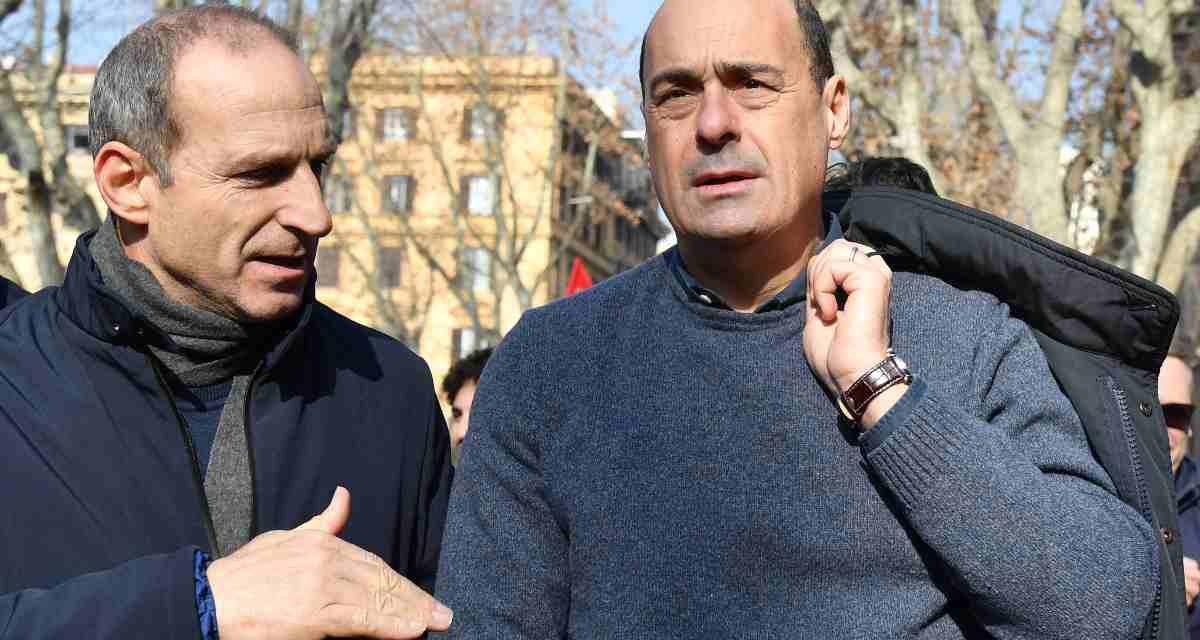 """PD, Zingaretti: """"Io premier? Ho già impegni,i giallo-verdi hanno fallito"""""""