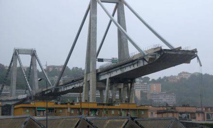 Commemorazione del crollo a Ponte Morandi, Genova si ferma