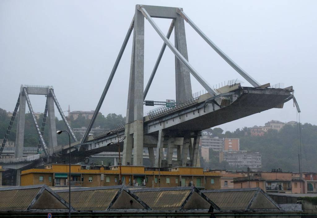 Ponte Morandi Genova commemorazione 14 agosto