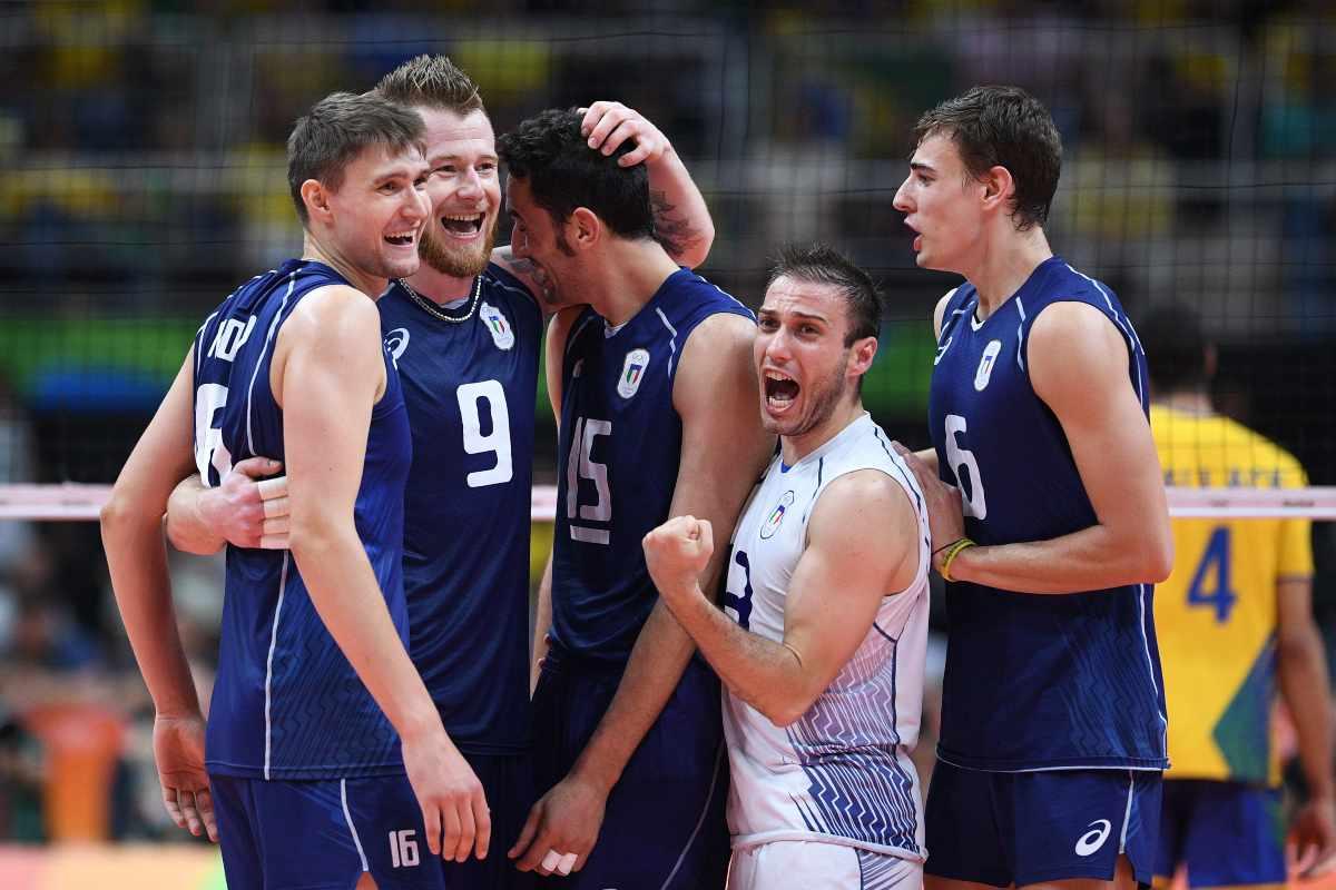 Pallavolo Italia maschile