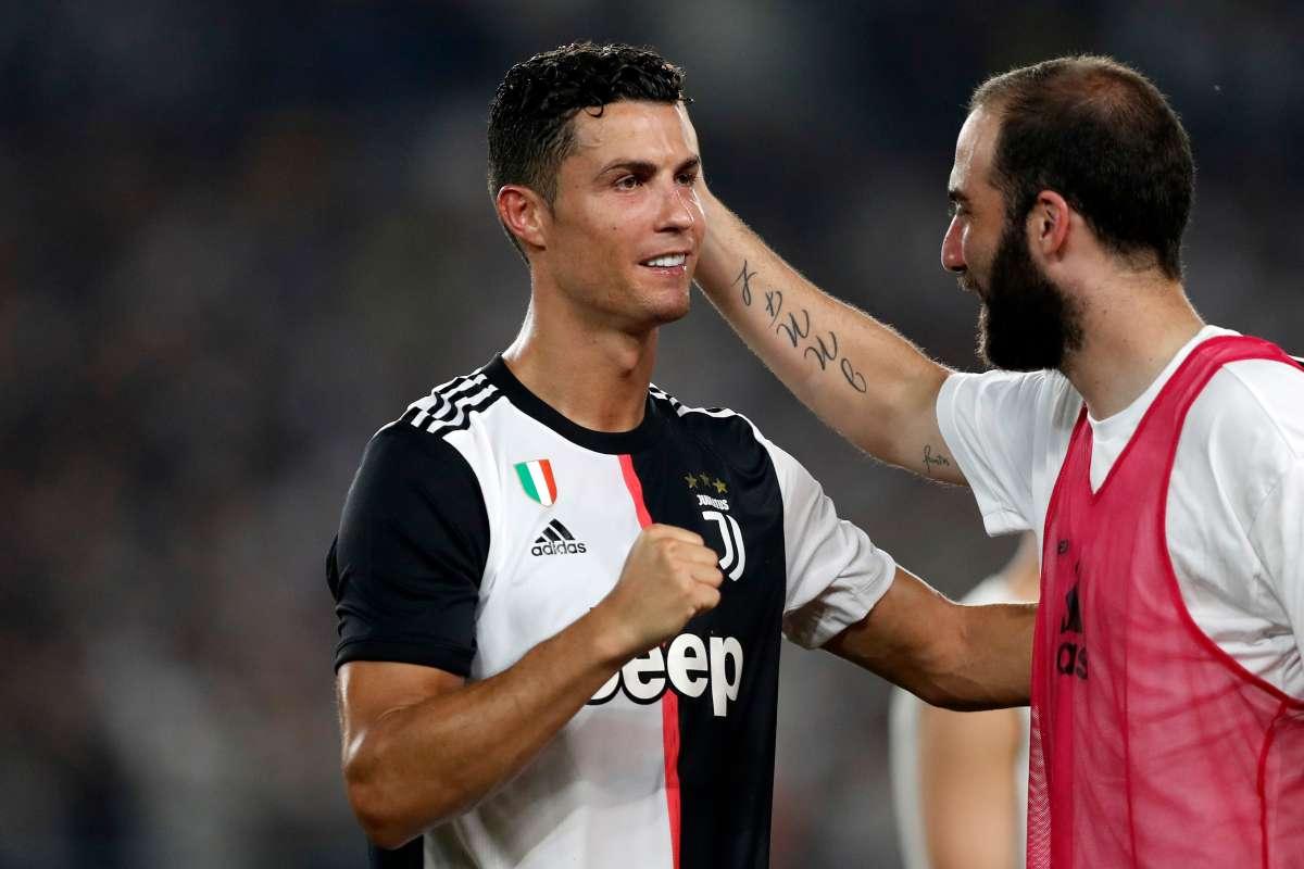 Ronaldo Higuain Juventus