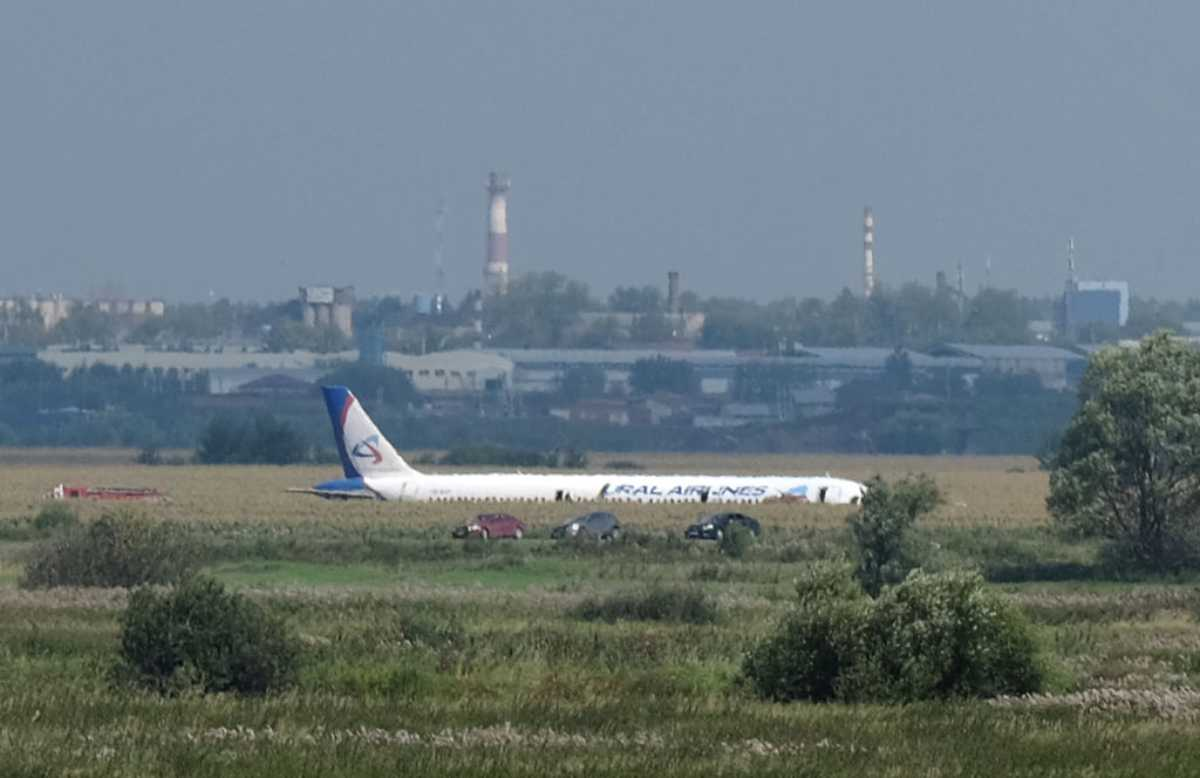 Aereo Ural Airlines, incidente in Russia