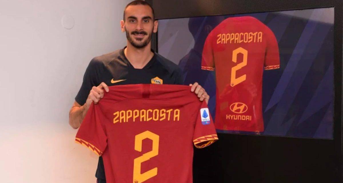 UFFICIALE – Roma, Zappacosta è un giocatore giallorosso: il comunicato