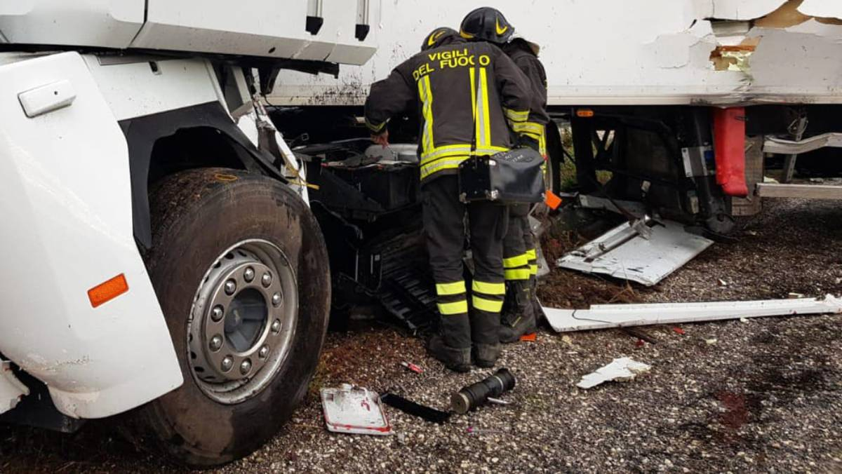 Incidente in autostrada