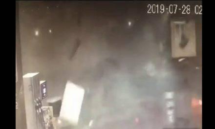 Noemi Magni muore per una tromba d'aria a Fiumicino – VIDEO