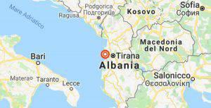 Nuova scossa di terremoto in Albania