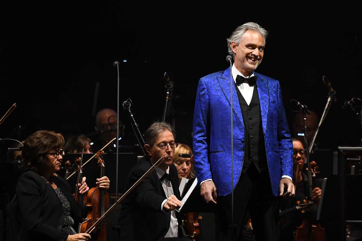 Andrea Bocelli, Getty Images