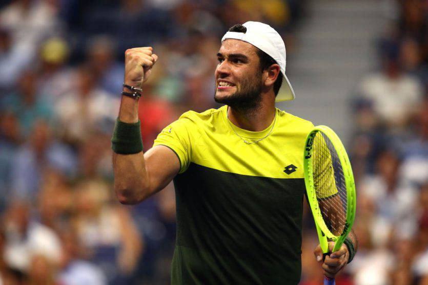 Matteo Berrettini US Open quarti di finale