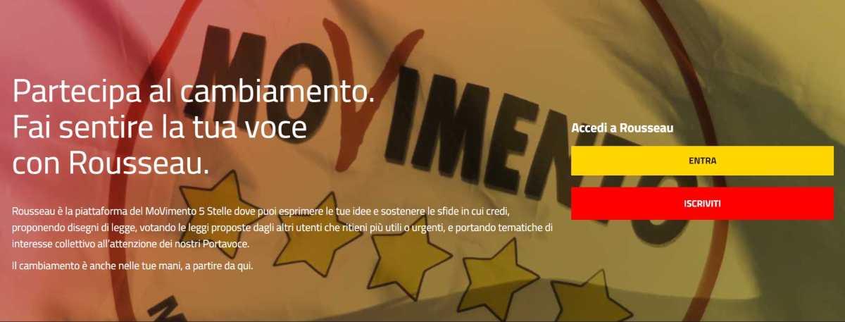5 Stelle, Regionali Calabria Emilia iscritti sulla Piattaforma Rousseau