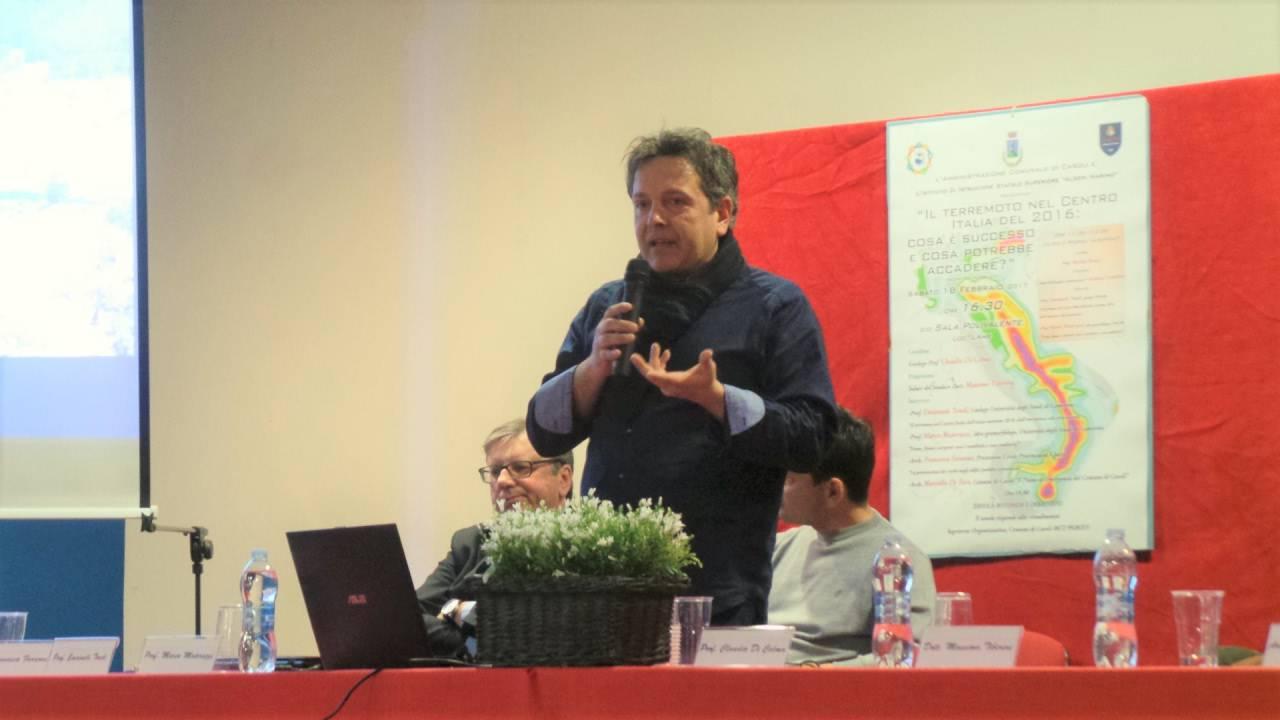 Terremoto centro Italia, parla il professor Emanuele Tondi