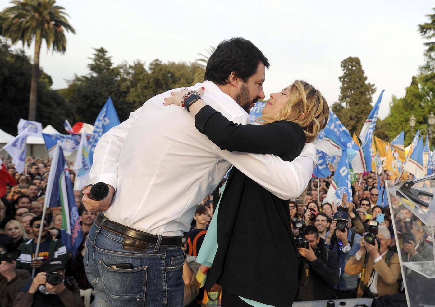 Sondaggi elettorali Fratelli d'Italia Lega Pd