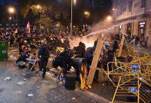 Cataloogna scontri feriti Barcellona