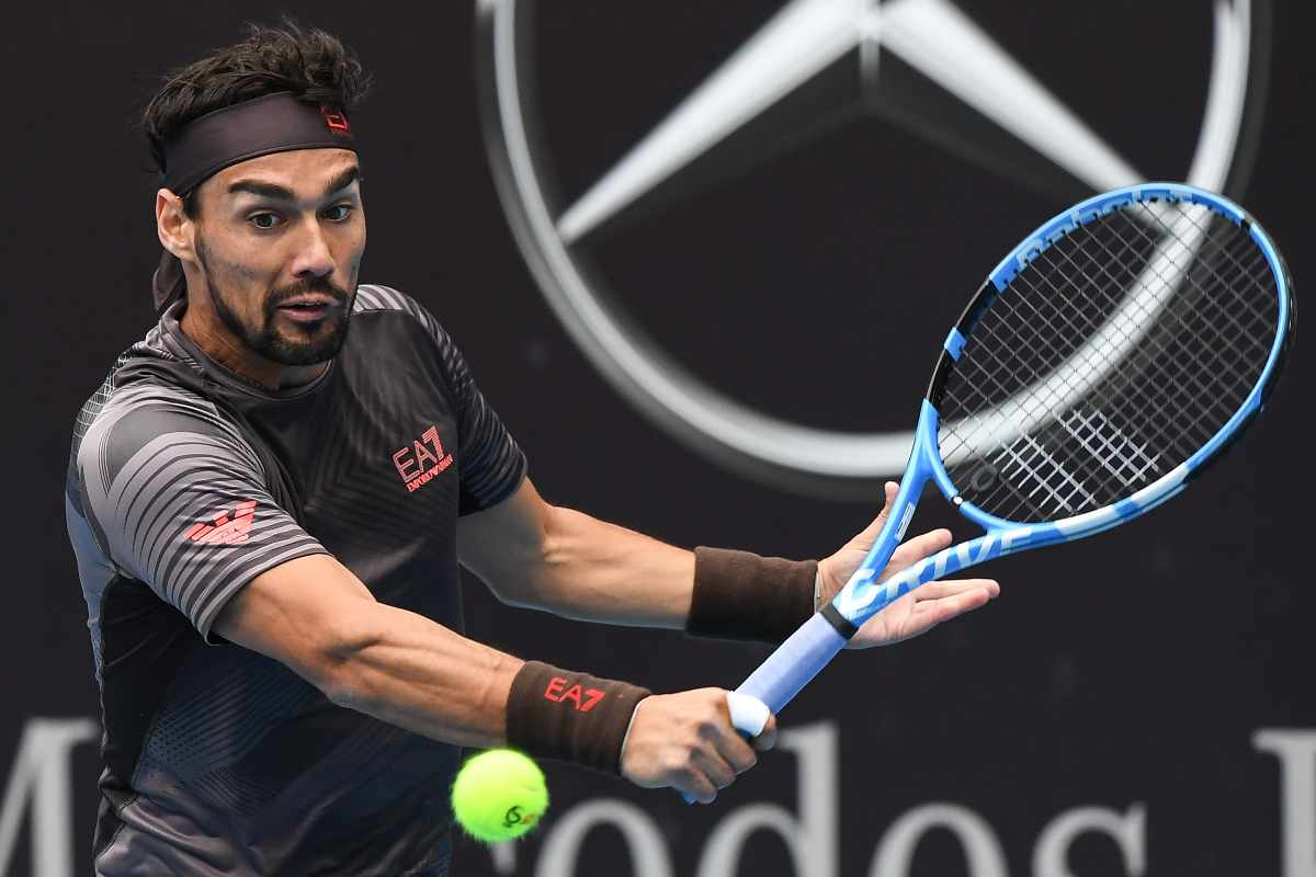 Fabio Fognini accede ai quarti di finale, Getty Images