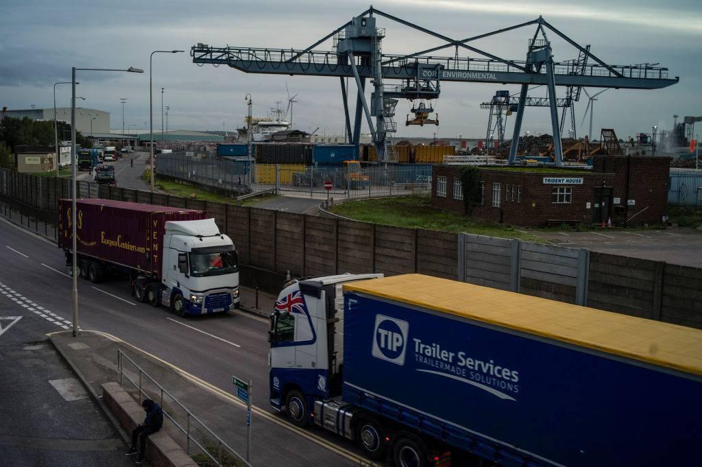 Belgio migranti camion