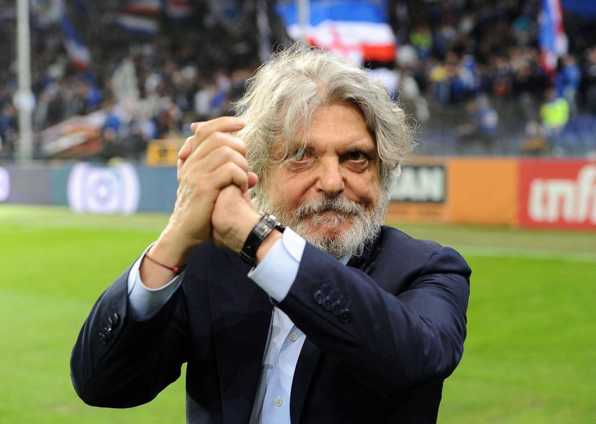 Sampdoria, presidente Massimo Ferrero (Getty Images)