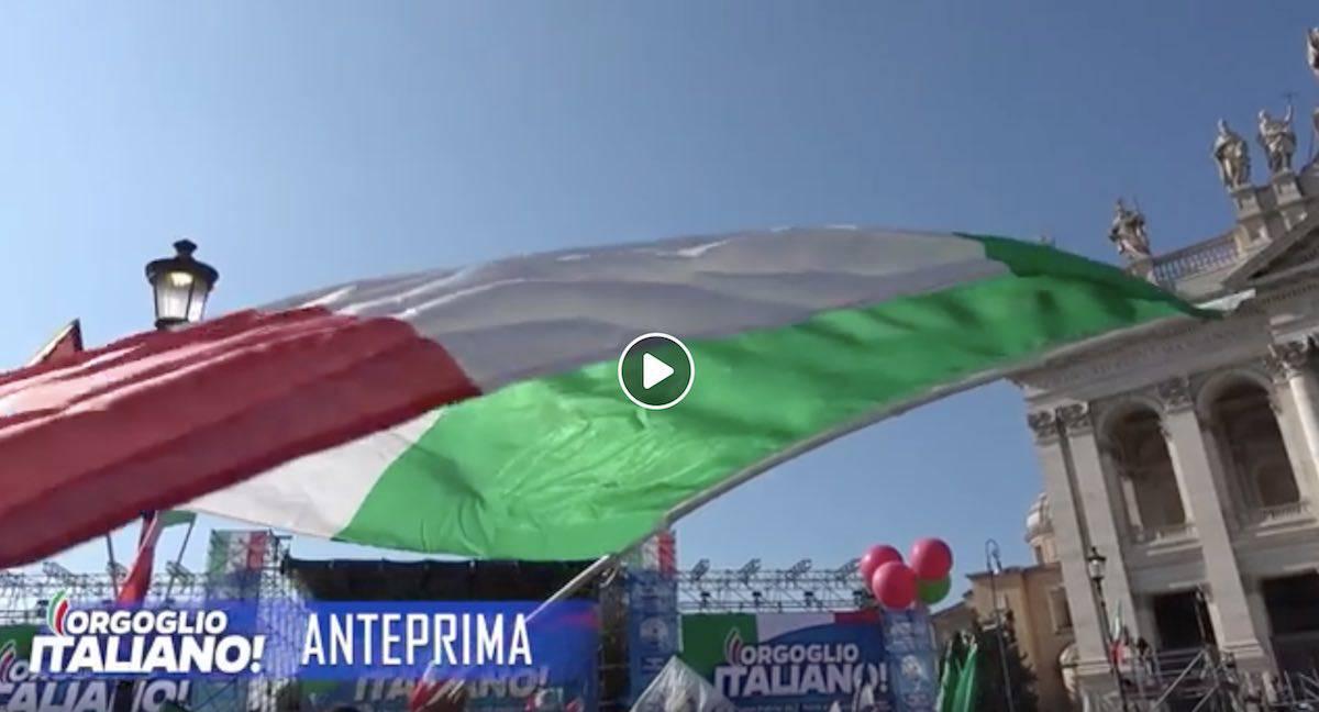 Manifestazione Salvini Roma 19 ottobre