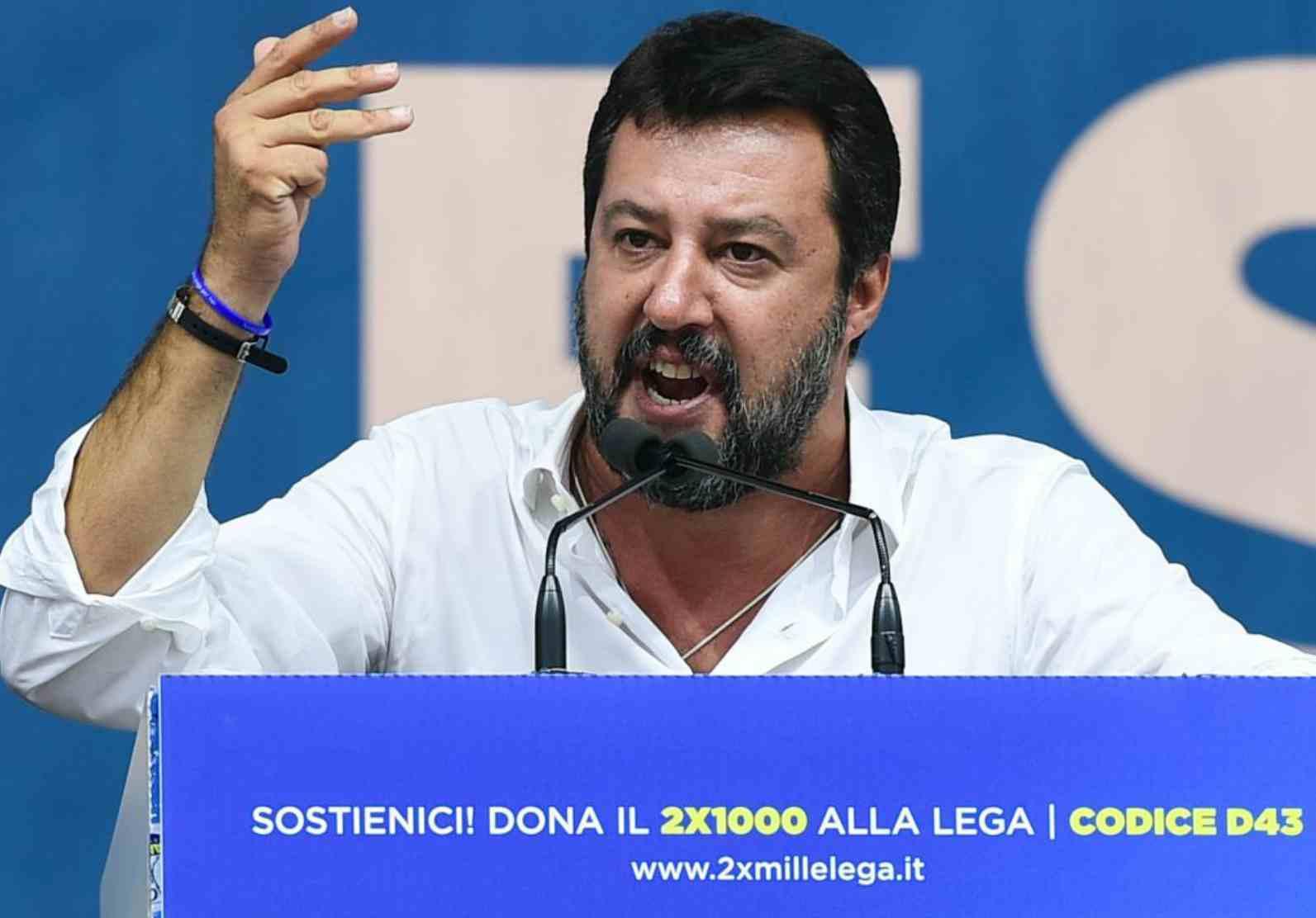 Matteo Salvini Virginia Raggi elettori voto Umbria